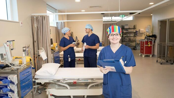 Rph Day Procedures Beds Staff6 1976